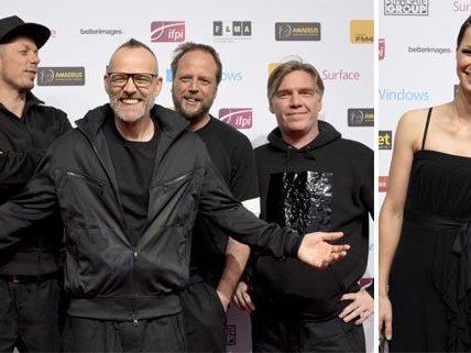 Die Fantastischen Vier performten, Christl Stürmer strahlte über weitere Amadeus Awards.