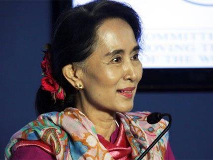 Aung San Suu Kyi will nach Wien kommen.