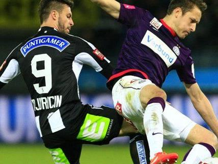 Live Ticker zum Spiel Austria Wien gegen Sturm Graz ab 16:30