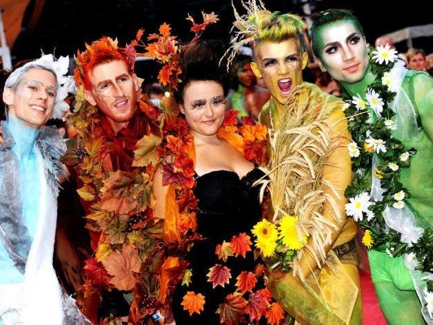 Schrill, schriller, Life Ball: Die Kostüme lassen Jahr für Jahr staunen.