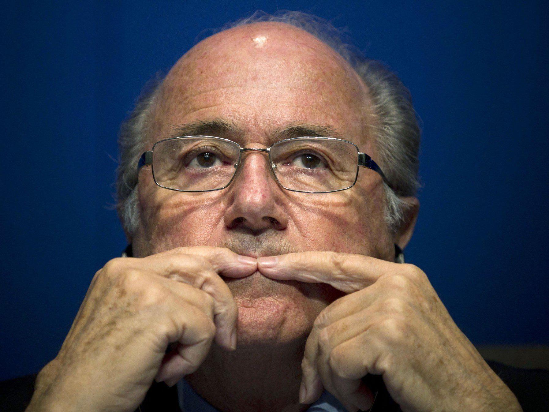 Mögliche Bestechung durch das Emirat wollte Blatter nicht kommentieren.