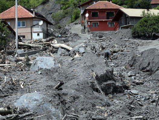 Der Hochwasserschaden wird mit Hilfe der EU bis zum 18. Juni bewertet.