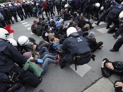 Viel Kritik am Vorgehen der Wiener Polizei.
