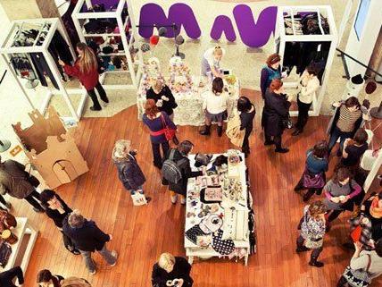 Handgemachtes und Unikate werden am Designmarkt angeboten.