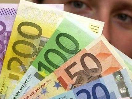 Ausgerechnet der 500 Euro-Schein war dann weg.