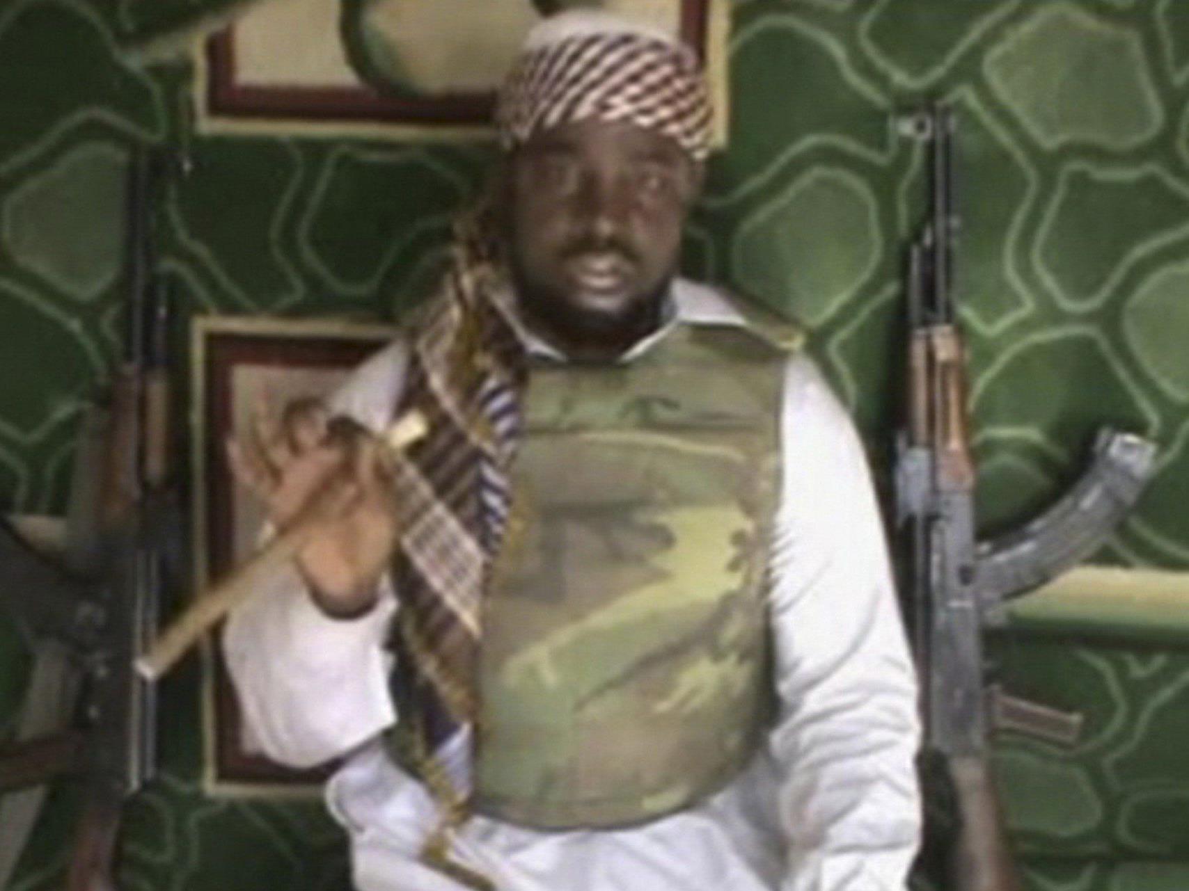 Boko-Haram-Chef Abubakar Shekau.