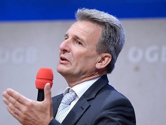 ÖGB-Präsident Foglar kritisiert Mario Plachutta.