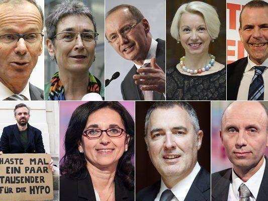 EU-Wahl: Diese Kandidaten können 2014 in Österreich gewählt werden