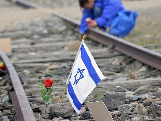 """Im April 2014 nahmen tausende Menschen am """"Marsch der Lebenden"""" teil, um den Opfern des Holocaust zu gedenken."""