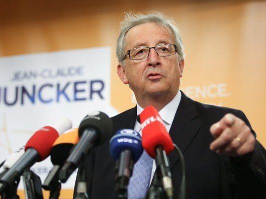 Juncker wurde vom EU-Parlament ermächtigt, als erster die erforderliche Mehrheit zu finden.