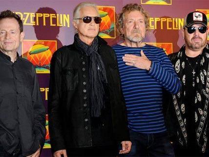 Unter Plagiatsverdacht: Led Zeppelin.