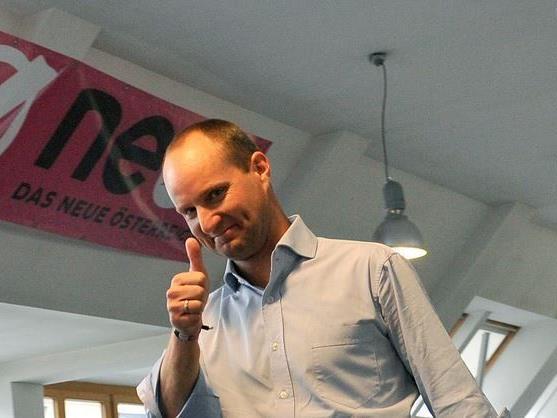 Matthias Strolz - Chef der NEOS.