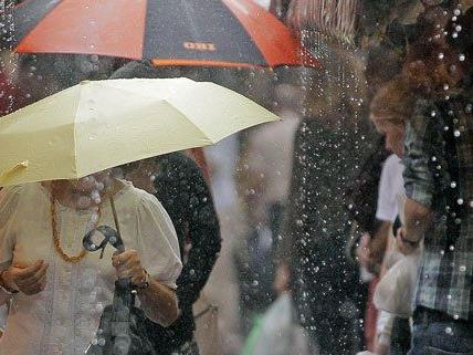 In der kommenden Woche ist mit intensivem Regen zu rechnen.