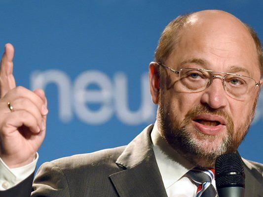 Martin Schulz verärgert mit seinem aktuellen Inserat Unionsbürger.