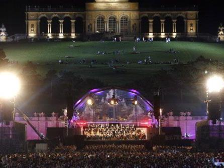 Jedes Jahr ein Highlight in Wien: Das Sommernachtskonzert.