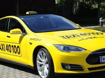 Das erste E-Taxi ist bereits in Wien unterwegs.