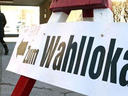 In WIen kann am 25. Mai bis 17 Uhr gewählt werden.