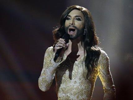 Conchita Wurst hat sich für das Finale qualifiziert.
