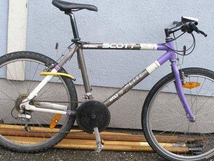 Der Verdächtige war mit diesem Fahrrad unterwegs.