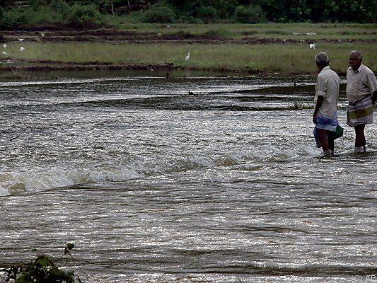 Tagelanger Regen sorgte für Überflutungen