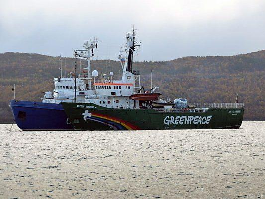 Arctic Sunrise wurde im September beschlagnahmt