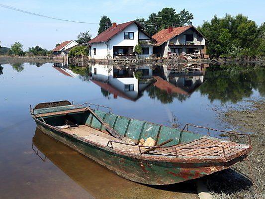 Katastrophale Überschwemmungen am Balkan