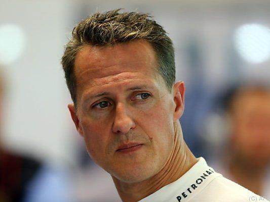 Gute Nachrichten von Michael Schumacher