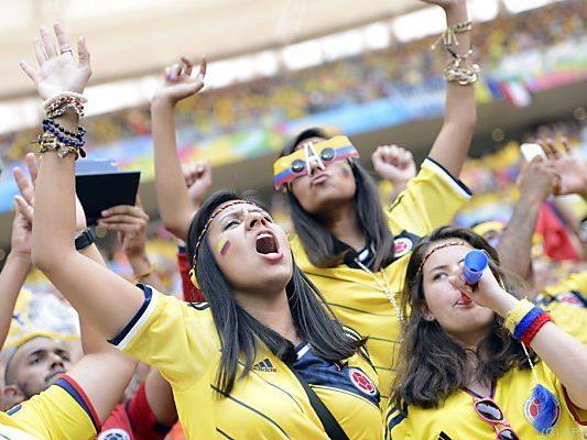 Kolumbien neben Chile schon fix weiter