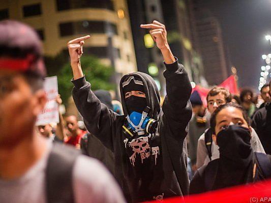 Ärger über Ungerechtigkeiten in Brasilien