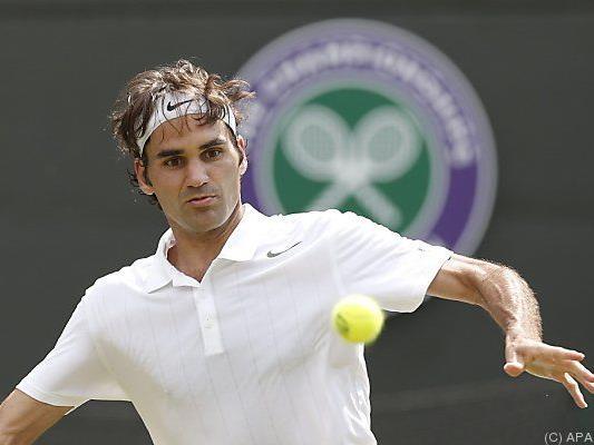 Roger Federer besiegte Italiener Paolo Lorenzi