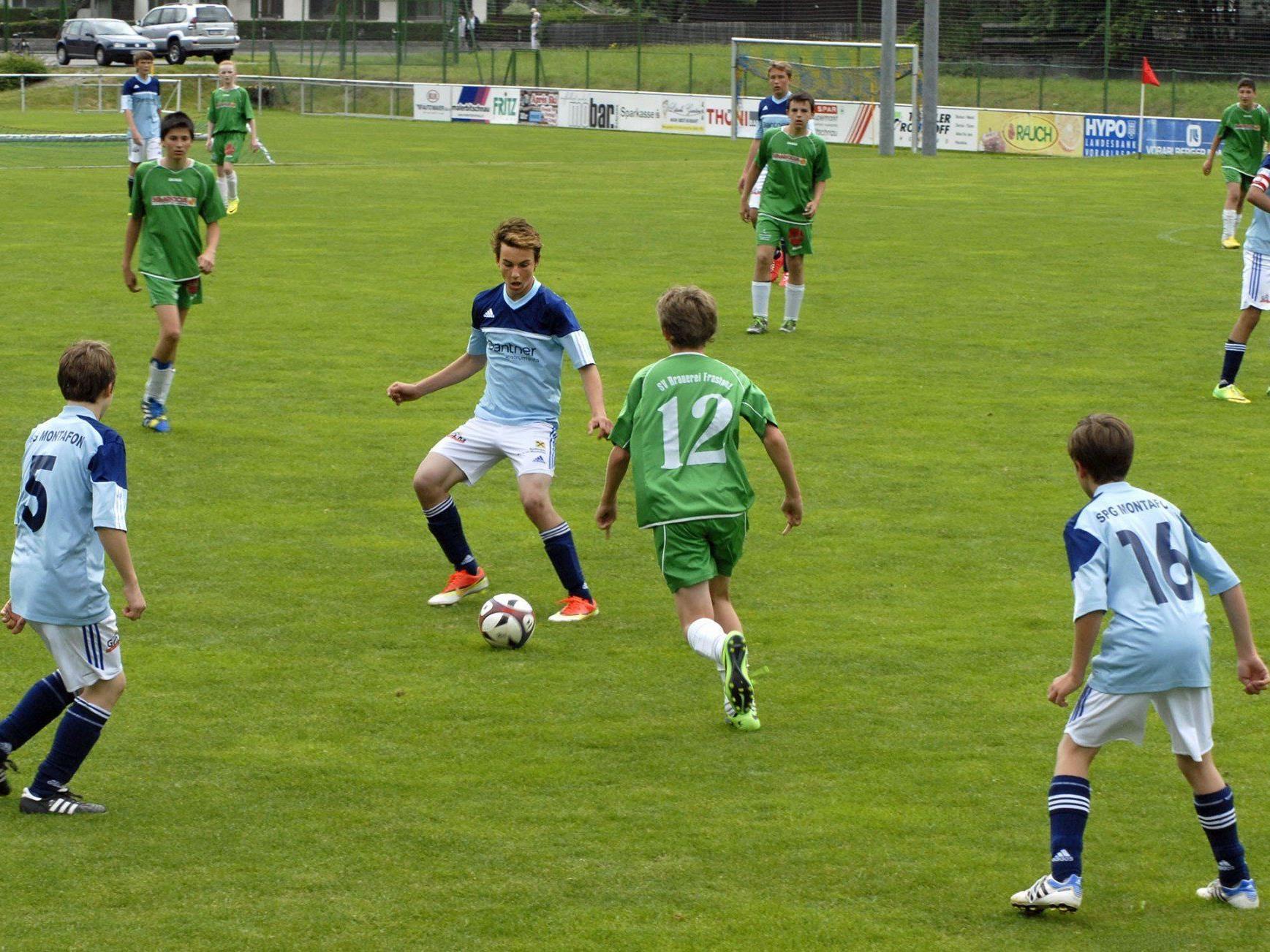 U14-Spiel SPG Montafon - SV Frastanz 2:1