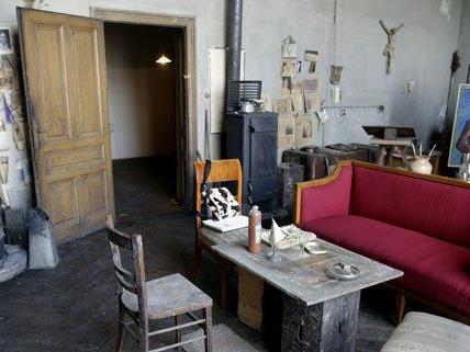 Das ehemalige Atelier von Künstler Herbert Boeckl wird nun einmal im Monat geöffnet.