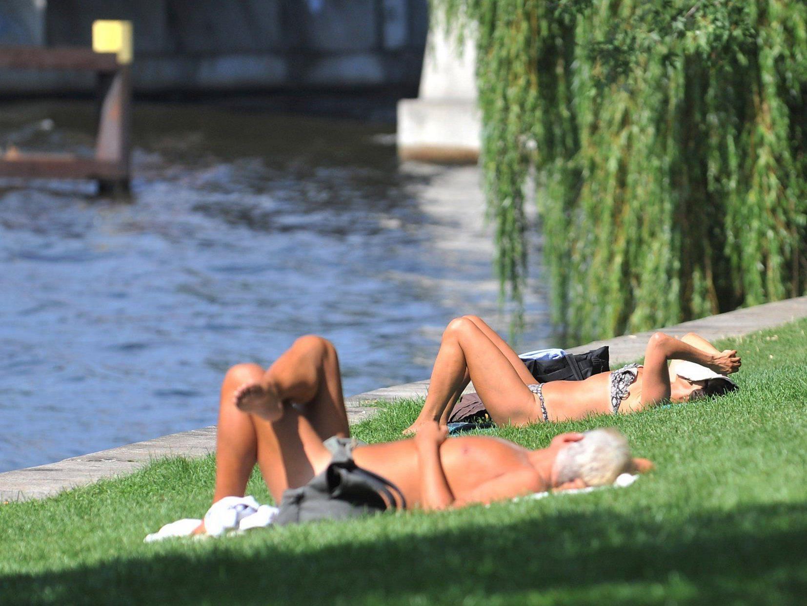 Jetzt kommt der Sommer: 30 Grad am Wochenende