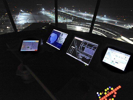 Im Austro Control Tower in Schwechat wird der österreichische Luftraum überwacht