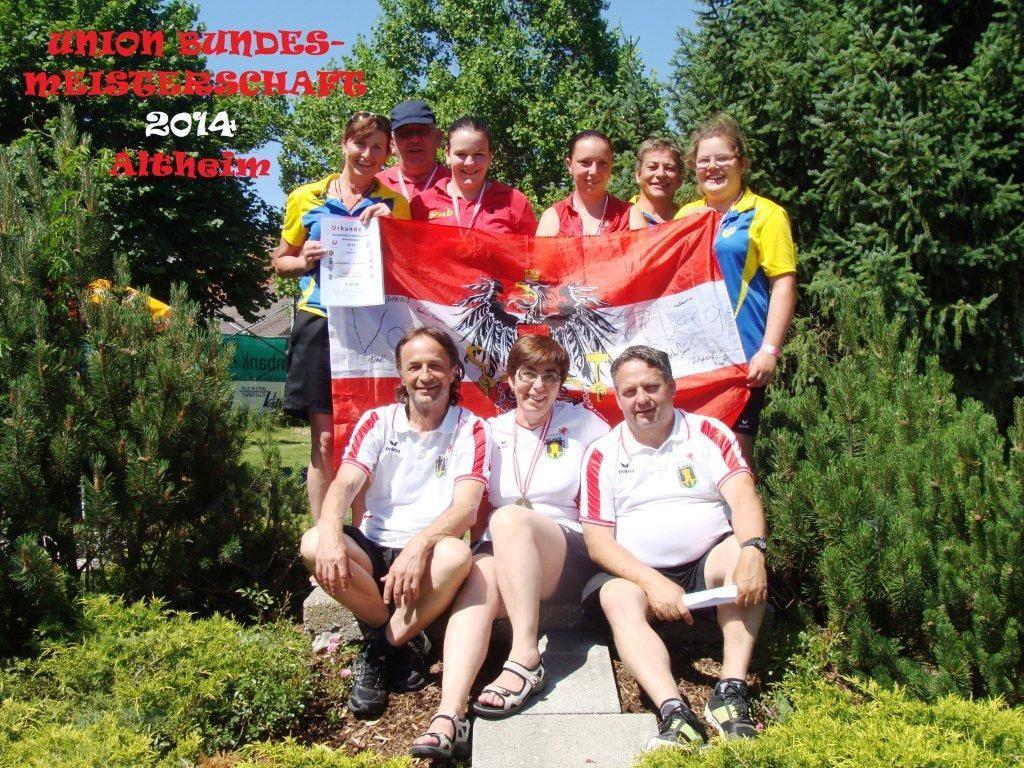 Die erfolgreiche Vorarlberger Abordnung bei der Bundesmeisterschaft