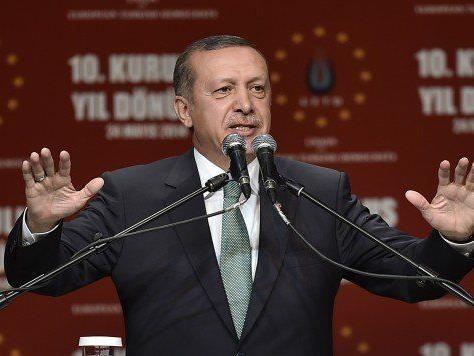 Erdogan wird in Wien auftreten und hier eine Rede halten