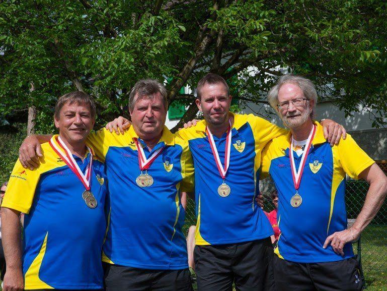 Die erfolgreiche Mannschaft des UMSC Schruns