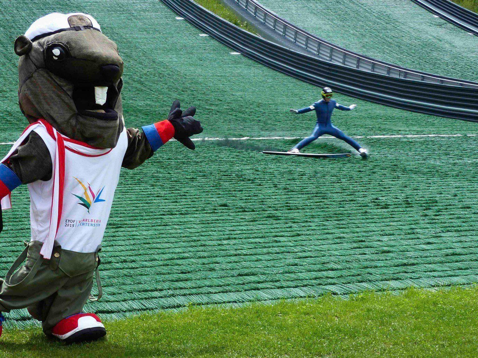 Der Olympic Day wurde in Schruns gefeiert.