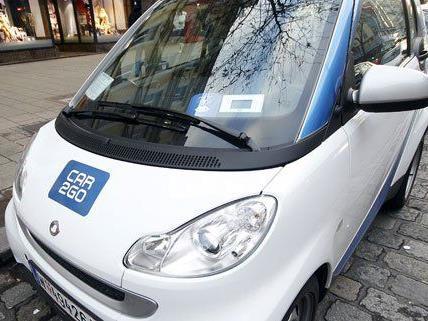 Insgesamt 800 Smarts von Car2Go stehen in Wien zur Verfügung.