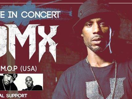 DMX kommt für ein Konzert live nach Wien.