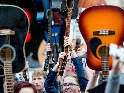 Flohmarkt für Musiker am Samstag in Wien.