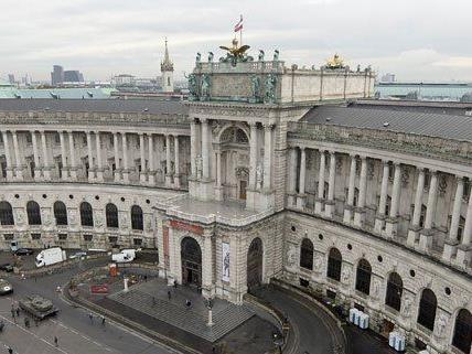 Die Volleyball-Auslosung findet in der Wiener Hofburg statt.