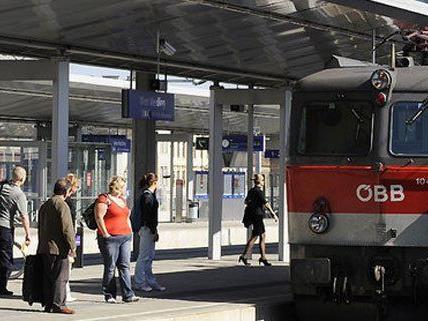 Viele pünktliche Züge bei den ÖBB, so die Bilanz.