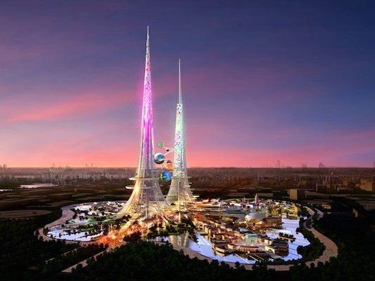 """Die """"Phoenix Towers"""" werden die höchsten Gebäude der Welt."""