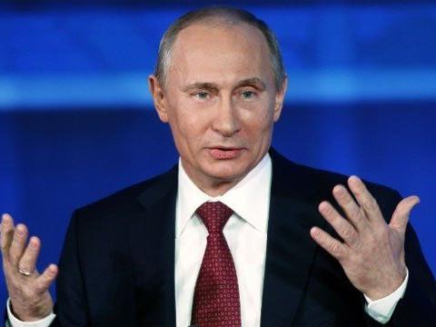 Viel Diskussionen um den Besuch von Putin in Wien.