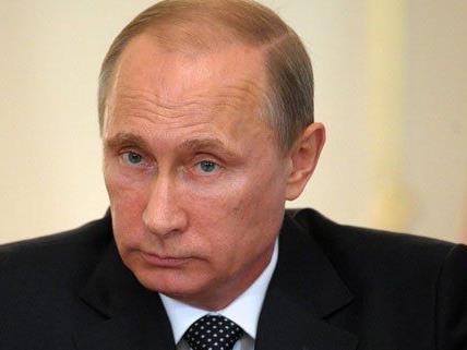 Wladimir Putin ist am Dienstag in Wien.