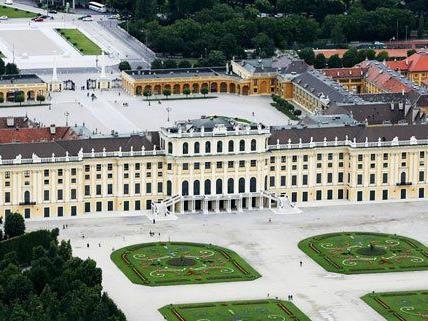 Kein ESC in Schönbrunn..