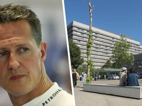 Die Klinik in Grenoble, aus der Schumis Krankenakte gestohlen worden sein soll.