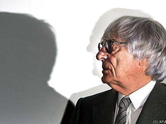 Bernie Ecclestone steht unter Korruptionsverdacht
