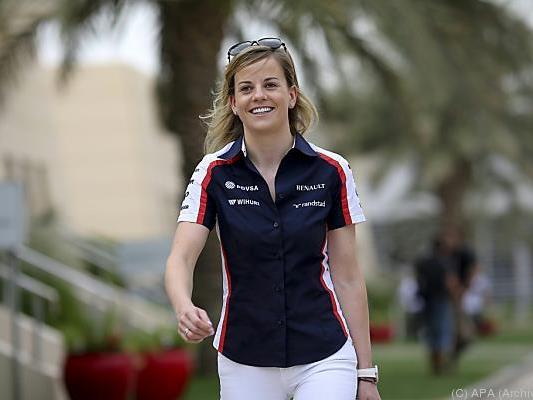 Schottin bestreitet Freitag-Tests für Williams